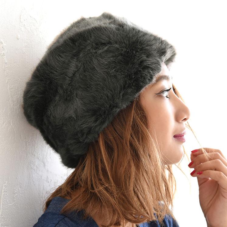 寒い日の防寒対策にもバッチリ★フェイクファーメーテル帽/ロシアン帽